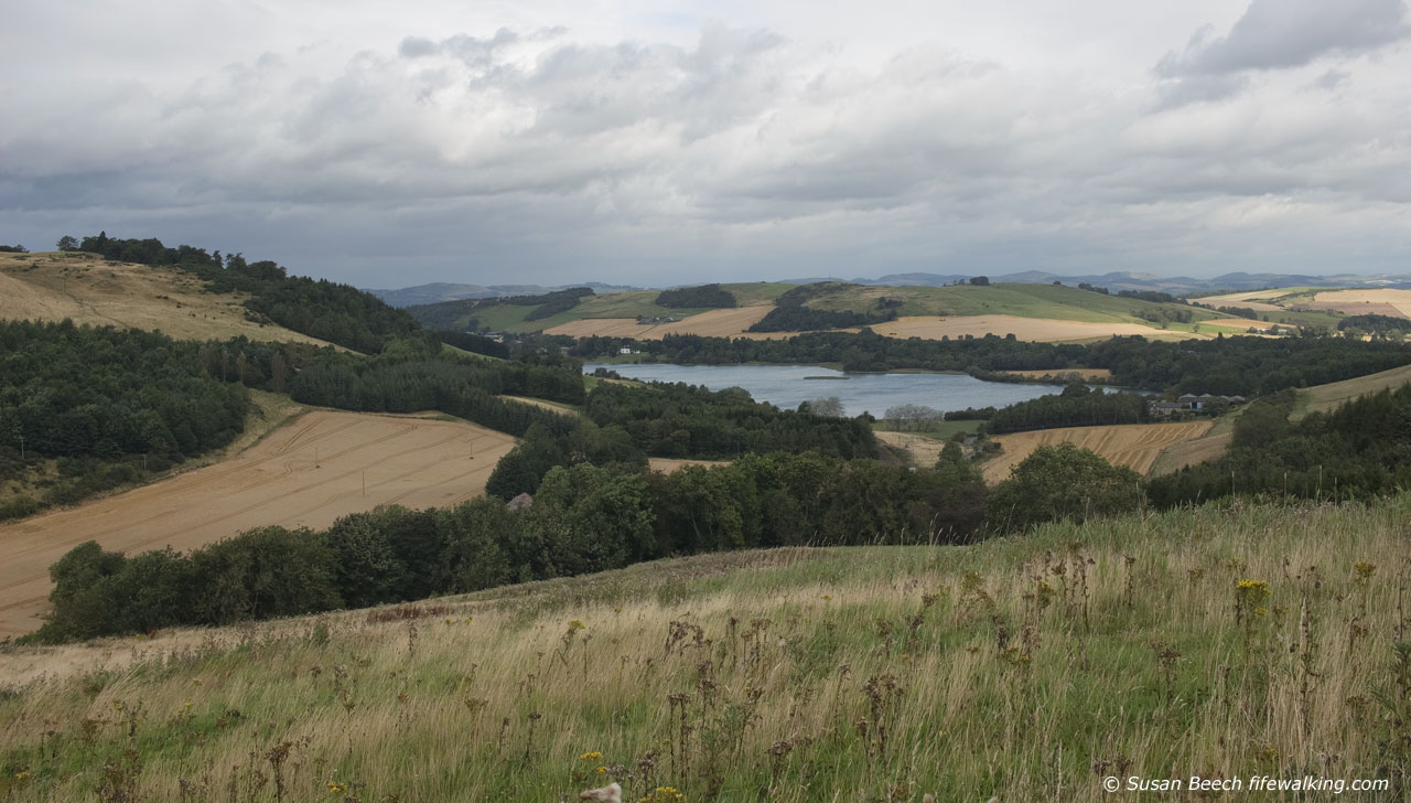 Lindores Loch from Cairnie Hill